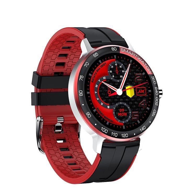 21+ New Trendy Handsome Outdoor Smart Watch 007   Silver