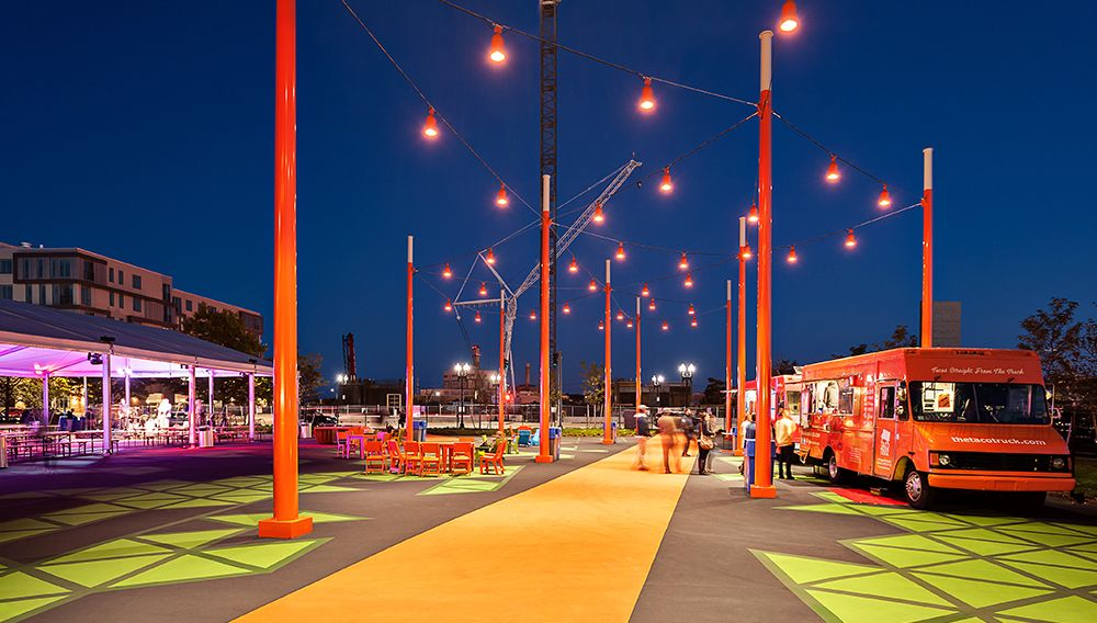 Ronstan supplied the Catenary Lighting system at the Lawn on D for the Mass Convention & Ronstan supplied the Catenary Lighting system at the Lawn on D ... azcodes.com