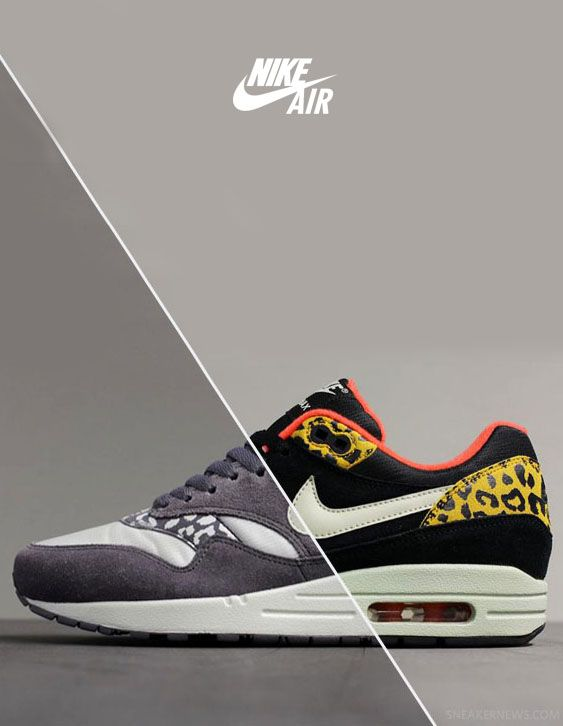 Nike Air Max 1 'Leopard Pack' October 2012 Fall. | sTyLeZ