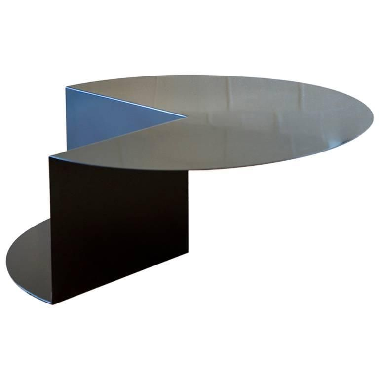 Cantilever Minimalist Coffee Table In Coated Steel Customizable Color From A Unique Collecti Minimalist Coffee Table Coffee Table Coffee Tables For Sale