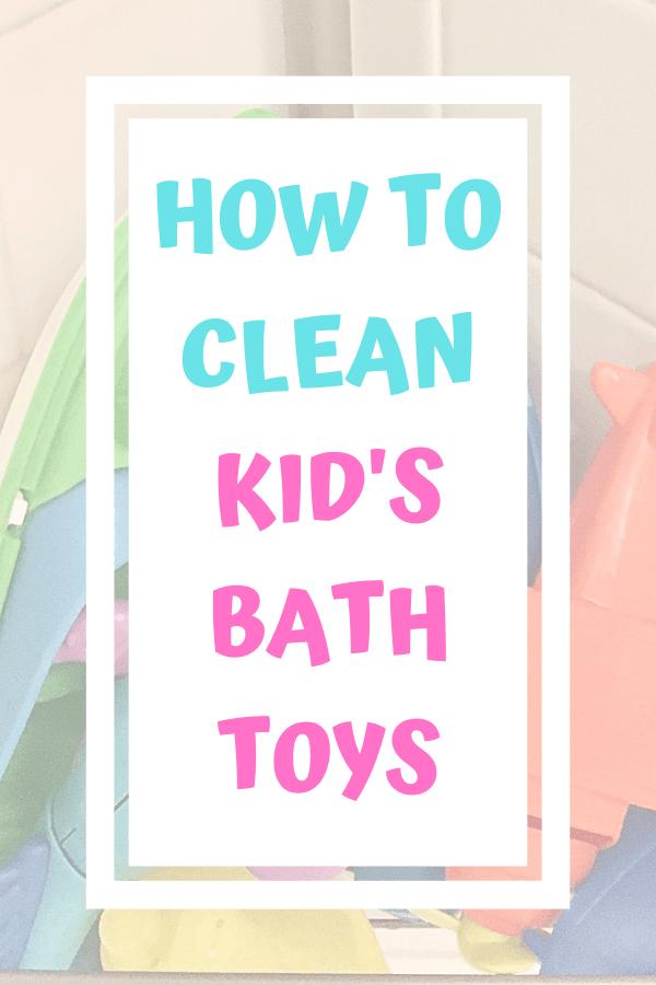 How To Clean Bath Toys In 2020 Cleaning Bath Toys Bath Toys Kids Bath Toys