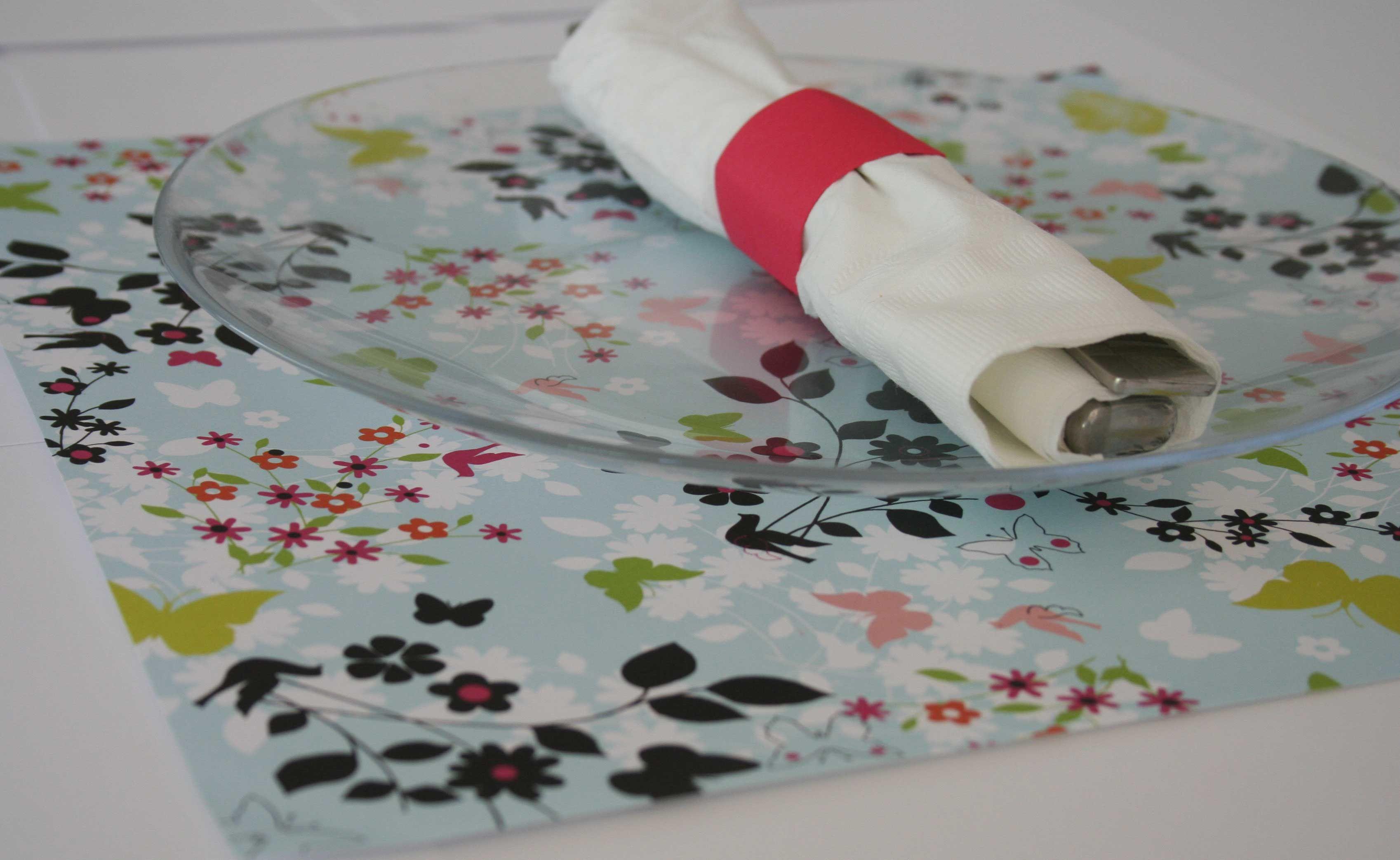 Diy Placemats Using Paper Projectsssss Pinterest Scrapbook