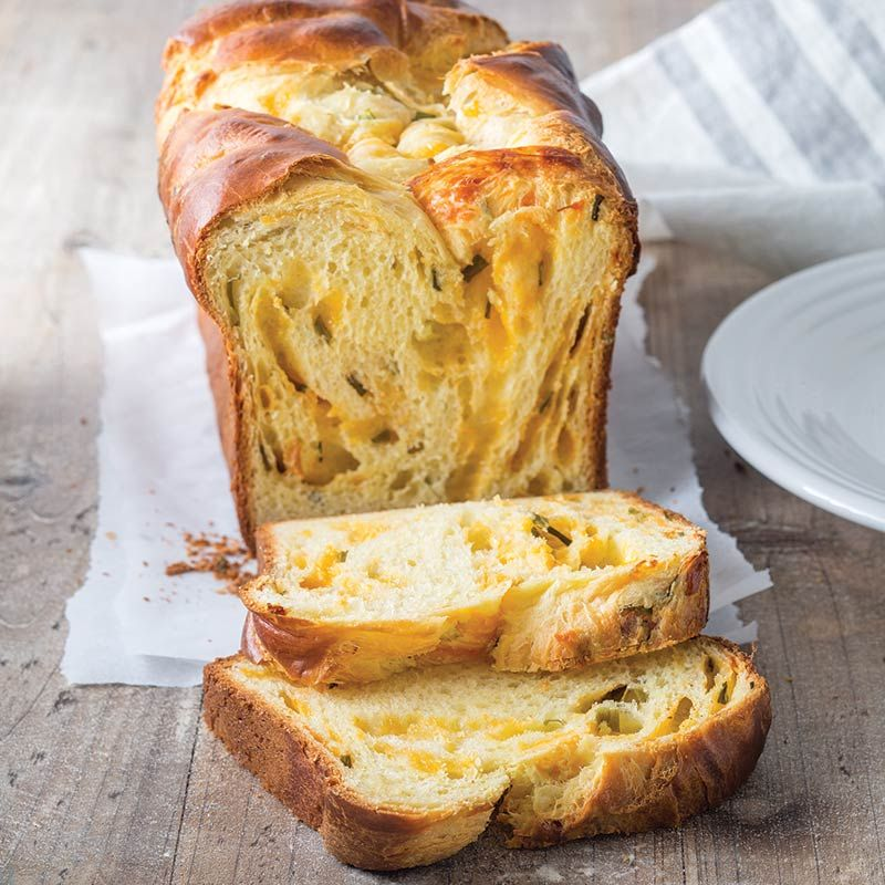 Buttermilk Cheddar And Chive Bread Taste Of The South Recipe Cheese Bread Recipe Food Bread Recipes Homemade