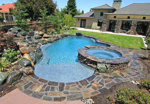 Freeform Swimming Pool Designs | Swimming Pool Builder | Premier ...