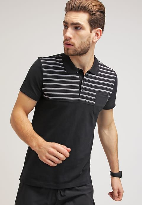 es Essentials Performance Zalando Black Polo Adidas Polos ARHwx6q1