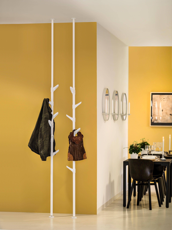 Nett Teleskopstange Garderobe Garderoben Eingangsbereich Haus Deko Kleiderstander Garderobe