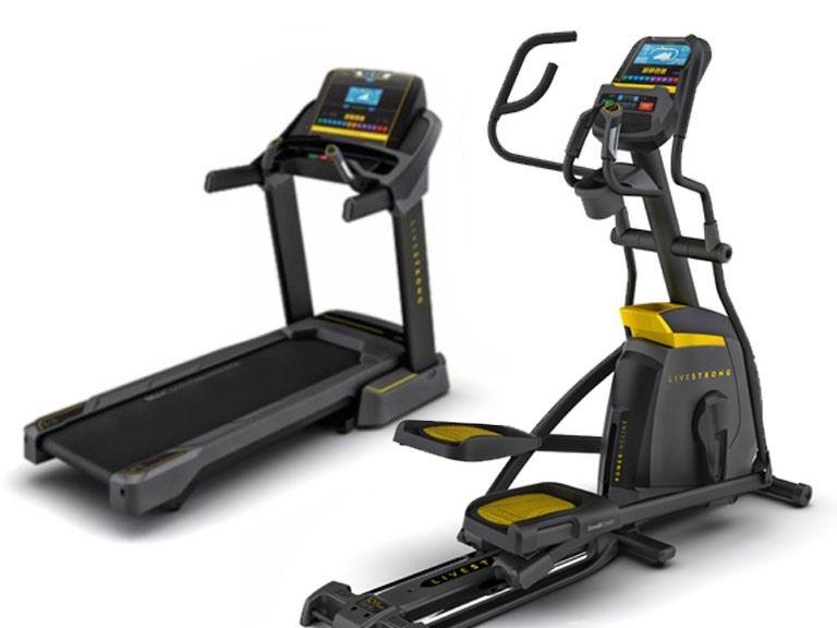 Livestrong Treadmill Or Elliptical 999 99 Daily Deals Pinterest