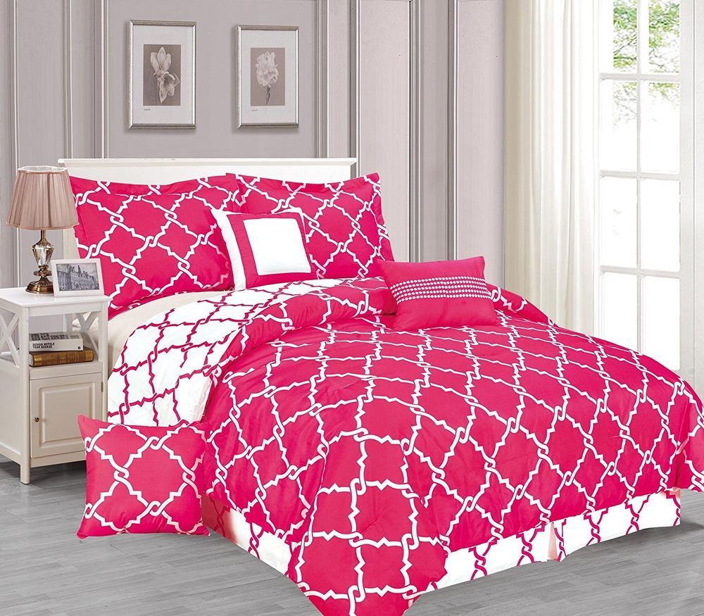 pin home quatrefoil sets comforter medallion kendrick queen oversized set crest pc grey bedding
