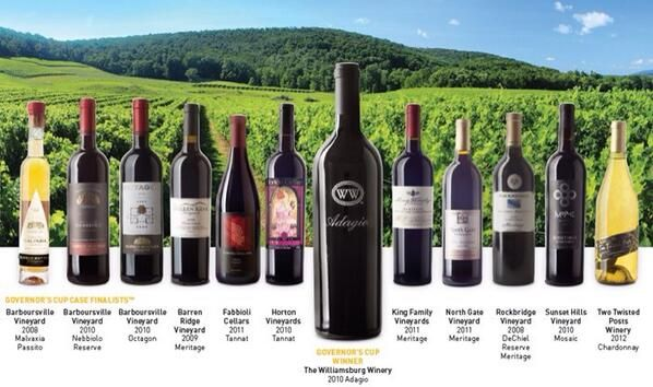 2014 Governor's Cup Competition & Williamsburg Winery takes the throne!