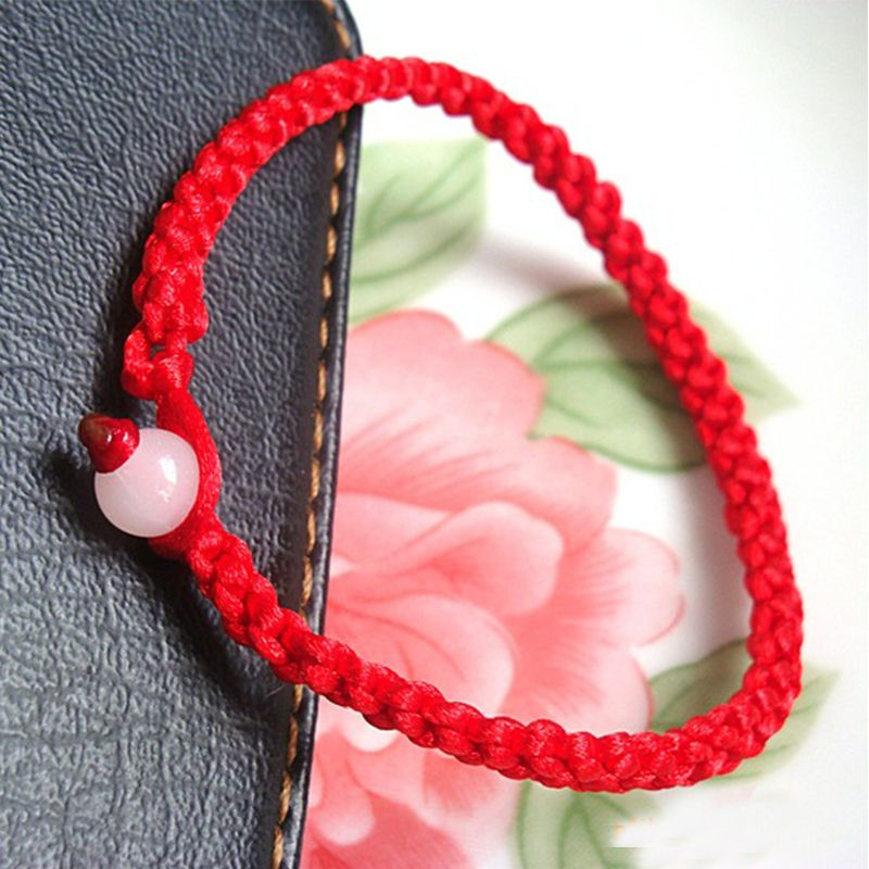 f2ffcdae3 Men Bracelets · Find More Charm Bracelets Information about Wholesale  Handmade Red String Bracelet Red Rope Charm Chain Lucky