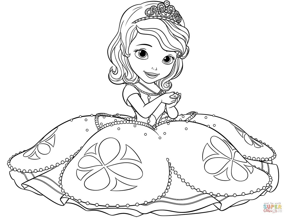 Sofia The First Coloring Pages Pdf Princess Coloring Pages Mermaid Coloring Pages Disney Coloring Pages