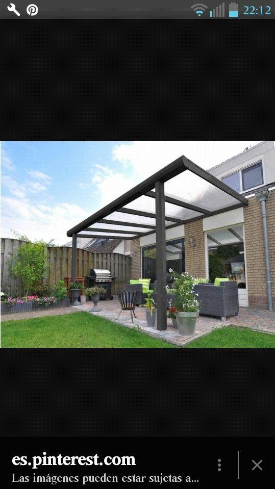 Pingl par mon beau jardin sur pergola pour jardin p rgolas pergolas de aluminio et techo de - Verriere jardin d hiver ...