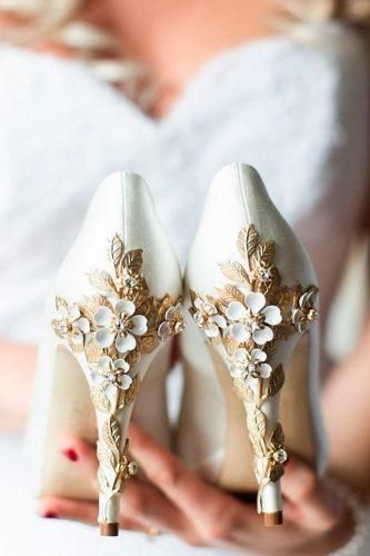 Photo of 24 Elegant White Wedding Shoes | Wedding Forward