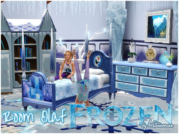 Frozen Room Set by Waterwoman | Sims 3 | Pinterest | Frozen room ...