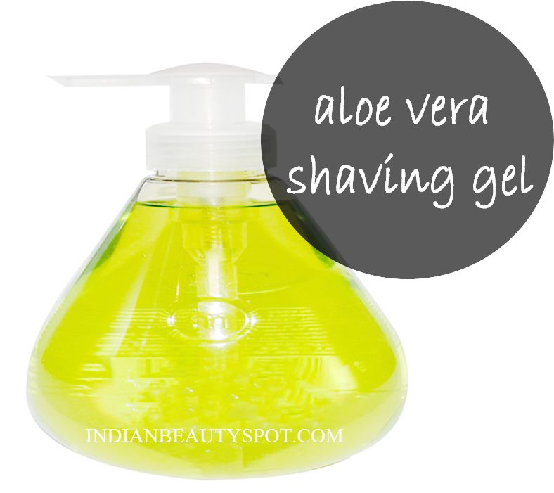 natural aloe vera shaving gel beauty diy beauty diy aloe vera gel not only soothes the. Black Bedroom Furniture Sets. Home Design Ideas