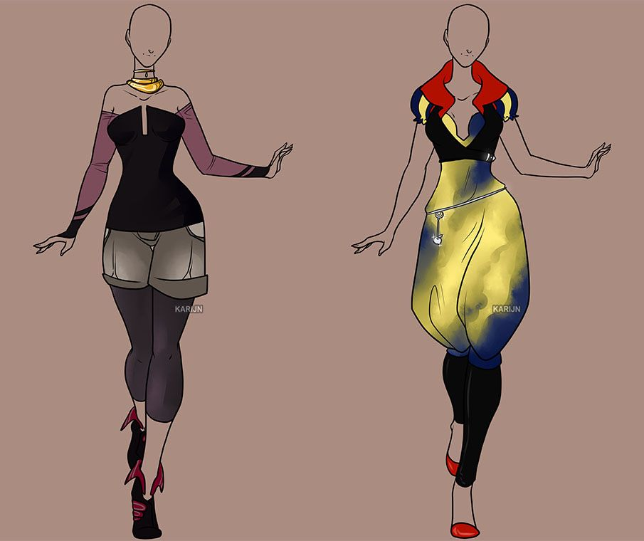 Fashion Adoptable Auction 88+89 - CLOSED by Karijn-s-Basement
