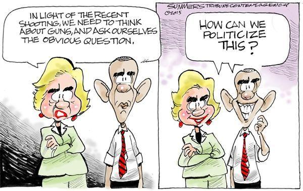 Hillary Obama guns