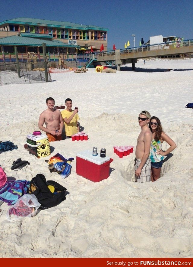 Spring Break Idea This Is Genius Deff Saw In Florida Last