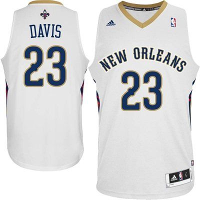 846b8d194ad ... nba mens city team t shirt ab170 b9fae  germany new arrival adidas  anthony davis new orleans pelicans swingman jersey white aba37 4a22d