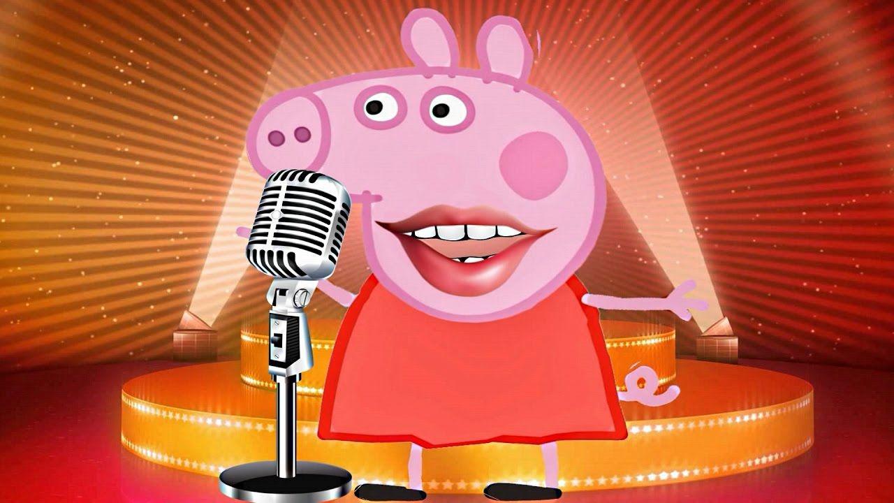 Peppa Pig Sings Finger Family Song Peppa Pig In Real Life Prank