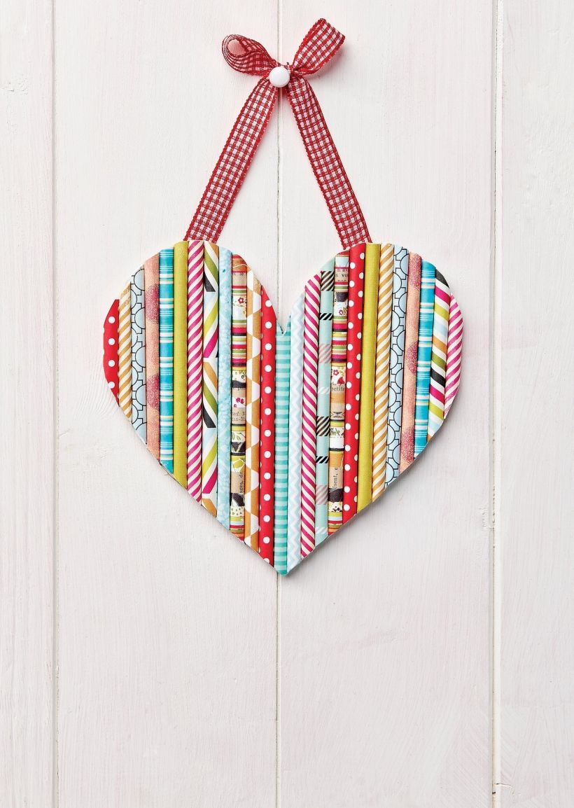 25 Easy Paper Heart Project Ideas Straw crafts
