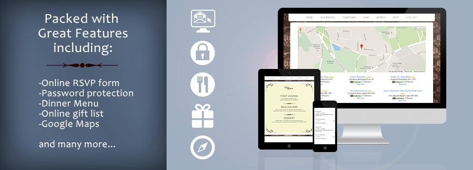 Online Invites Wedding website free, Online invitations