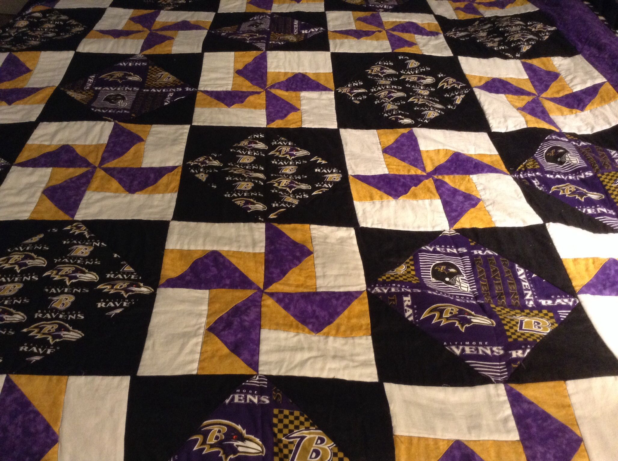 Baltimore Ravens Quilt Quilts Quilts Quilts