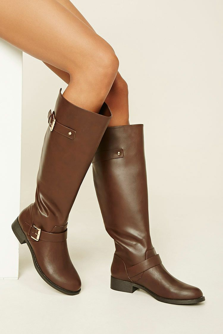 be85f144970d54 Tall Faux Leather Boots