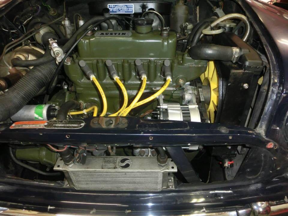 Tight Oil Cooler Setup Small Cars Classic Mini Setup