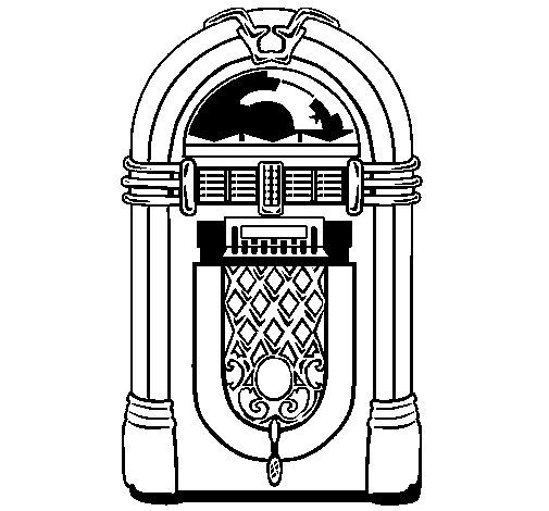 Coloring Pages For 50s Rock n roll Theme Yahoo Image Search