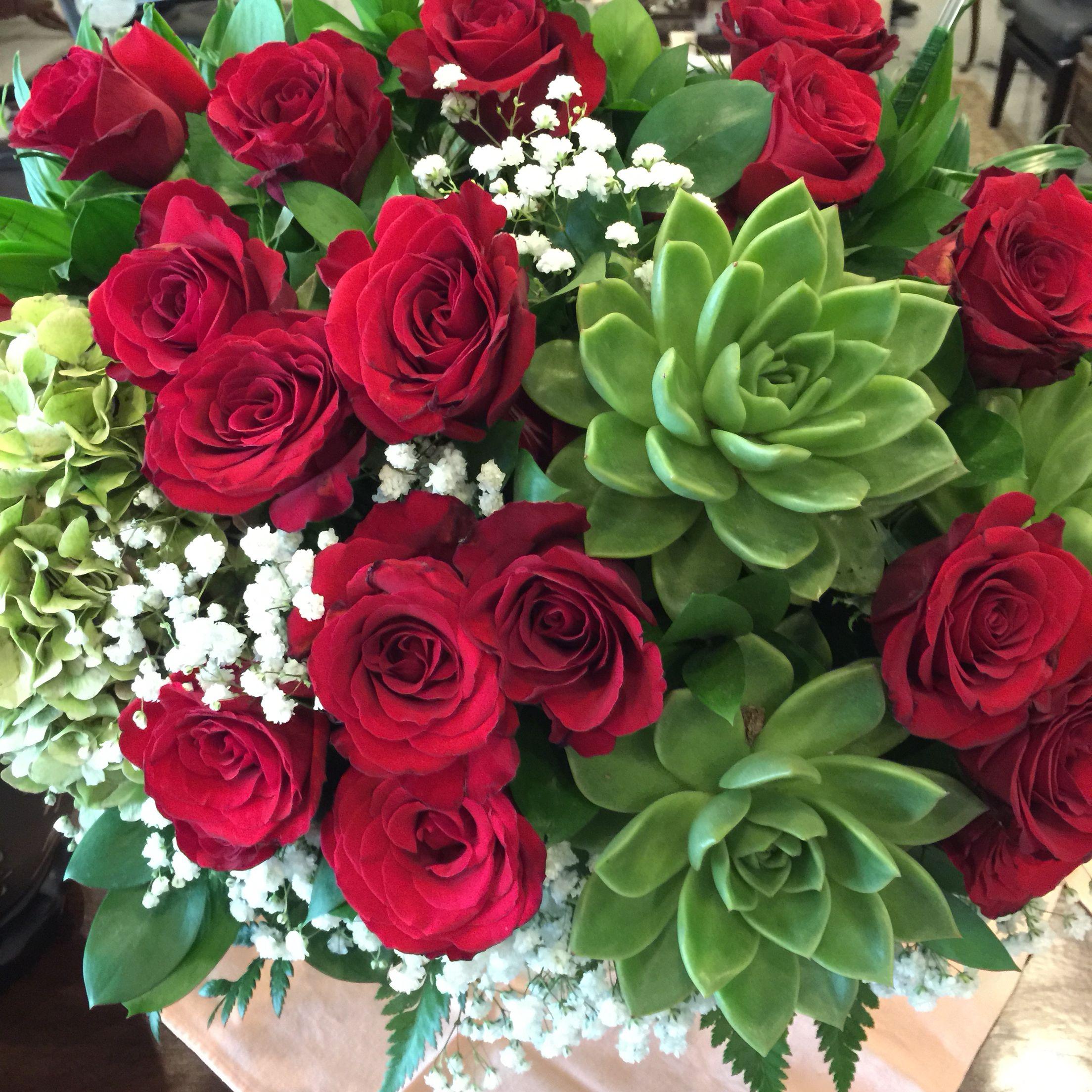 Flower arangements by Windy Florist, Jakarta, Indonesia