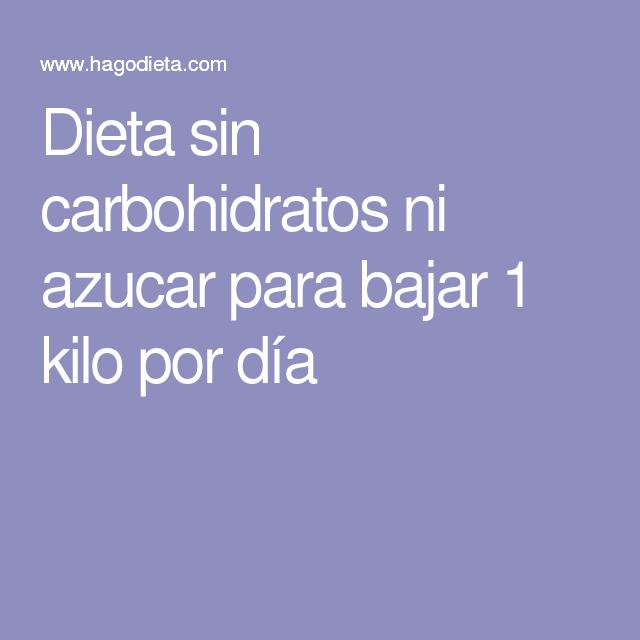 sin carbohidratos sin azúcar opiniones de la dieta
