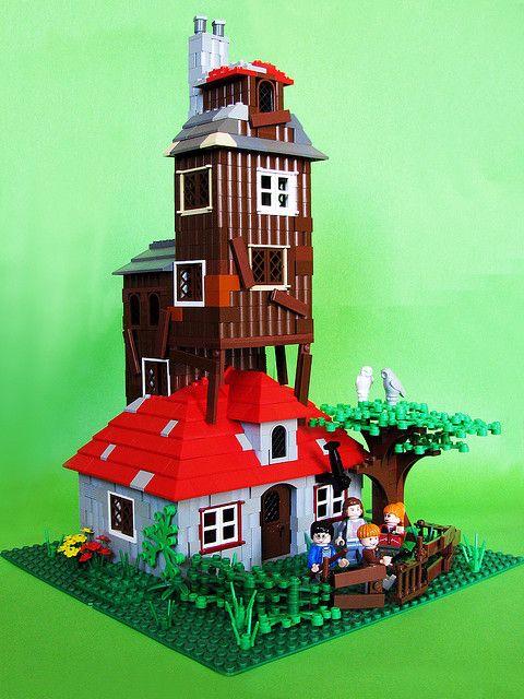 The Burrow Lego Harry Potter Harry Potter Lego Sets Harry Potter Fantastic Beasts