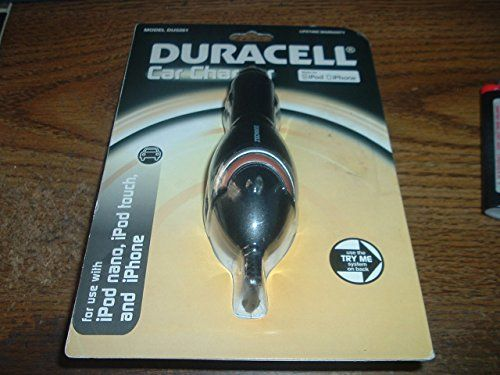 Duracell Dual Mini USB Car Charger Black DU1417 * To view
