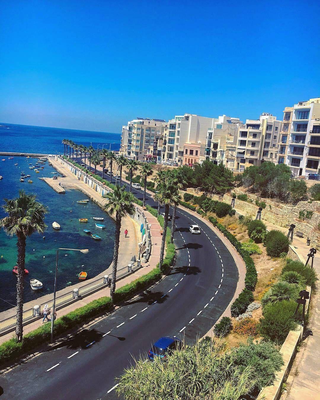 "1,089 To se mi líbí, 10 komentářů – LoveMalta (@lovemalta) na Instagramu: ""Whether you are naturally romantic or not, St.Paul's Bay turns you into a believer, Bugibba, Malta.…"""