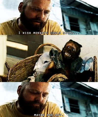 Alan The Hangover 2 Home Made Products That Make Sense Funny