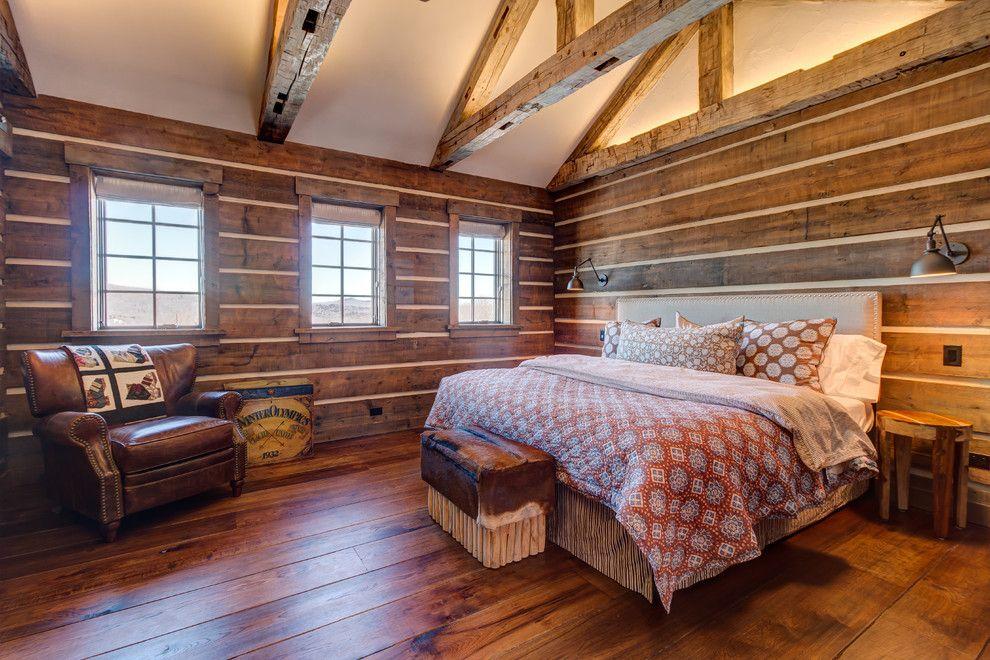 18 wundervolle rustikale Schlafzimmer Designs, in die Sie