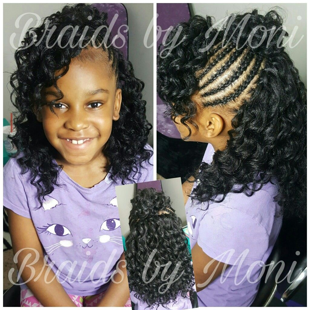 Coiffure Africaine Crochet Braids By Moni Located In Mississippi Kids Cornrows And