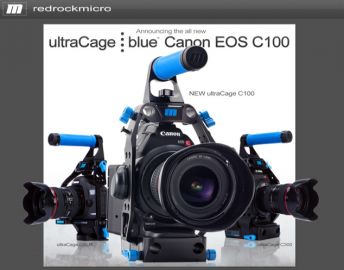 ultraCage-C100-from-Redrock-Micro-for-Canon-C100-cameras