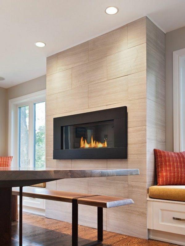 Das Moderne Kamin Design Bietet Attraktives Flammenbild Kamin
