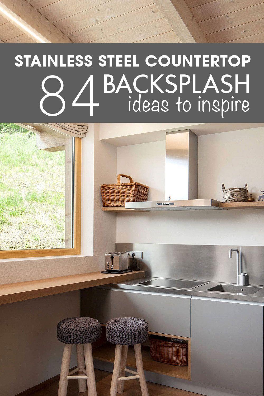 84+ Stainless Steel Countertop Ideas, Photos Pros & Cons