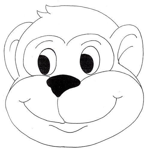 Máscaras De Animais Para Imprimir Atividades Pedagogicas Molde