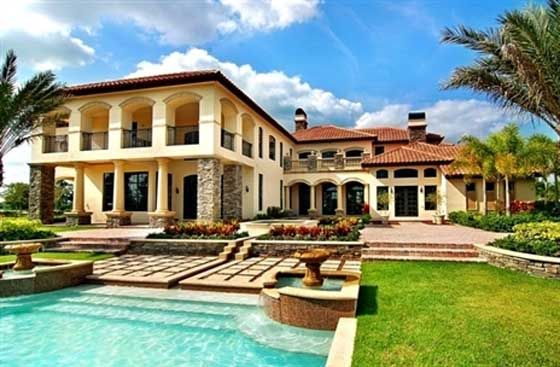 Tuscan Homes Designs