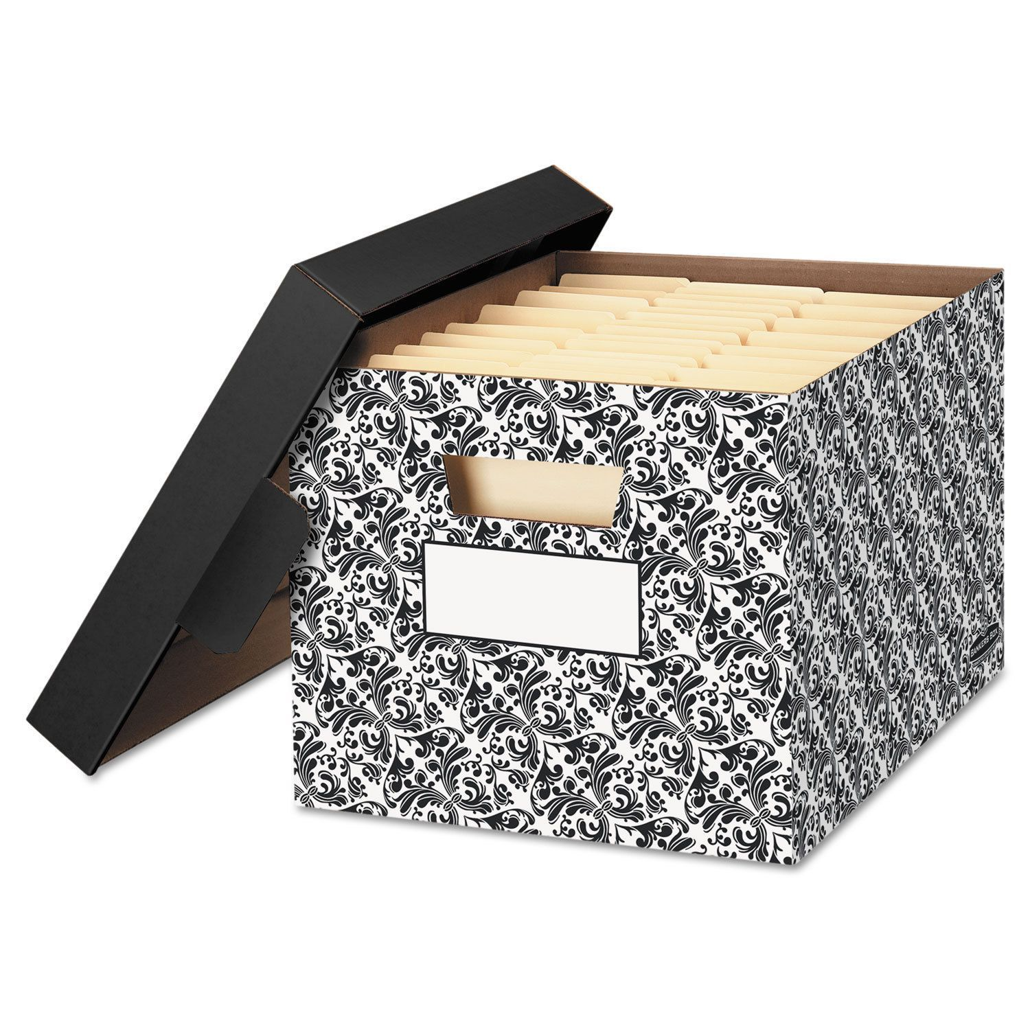 Bankers Box Stor File Decorative Medium Duty Storage Boxes Letter