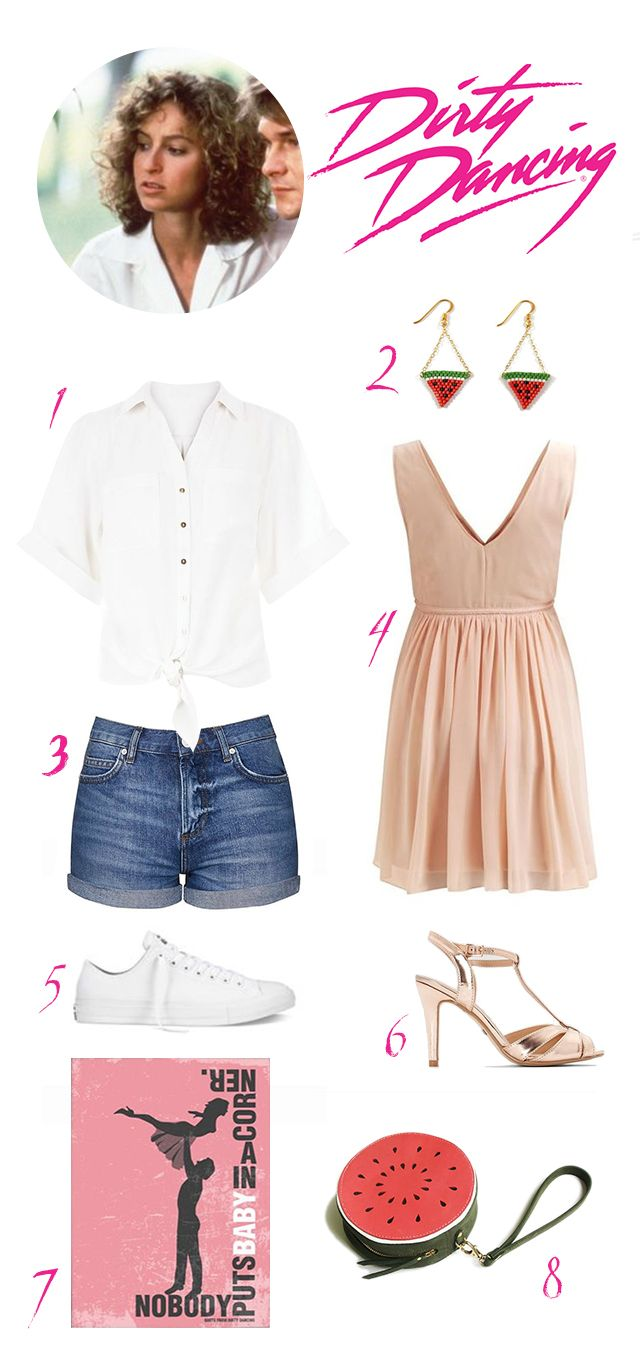 80iger Jahre Look Dirty Dancing Look My Style Pinterest