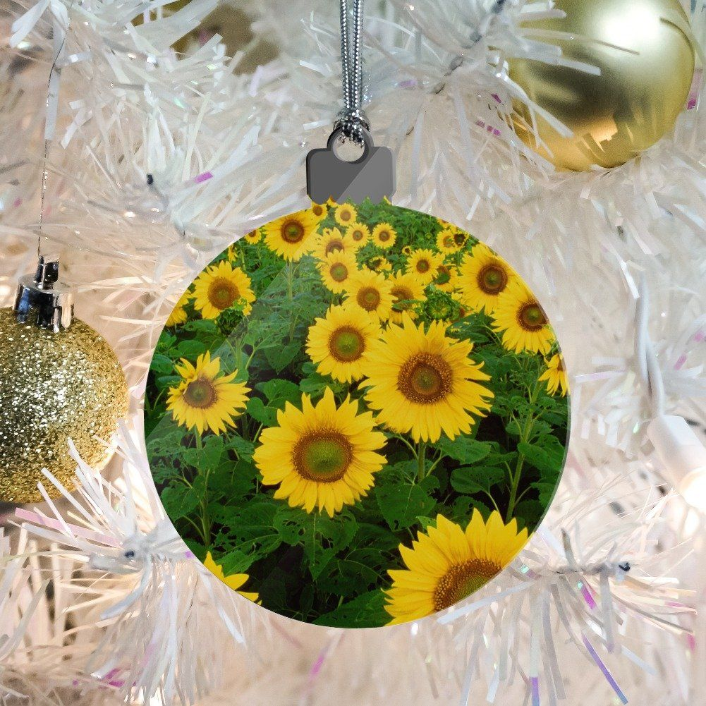 Graphics and More Field of Sunflowers Acrylic Christmas