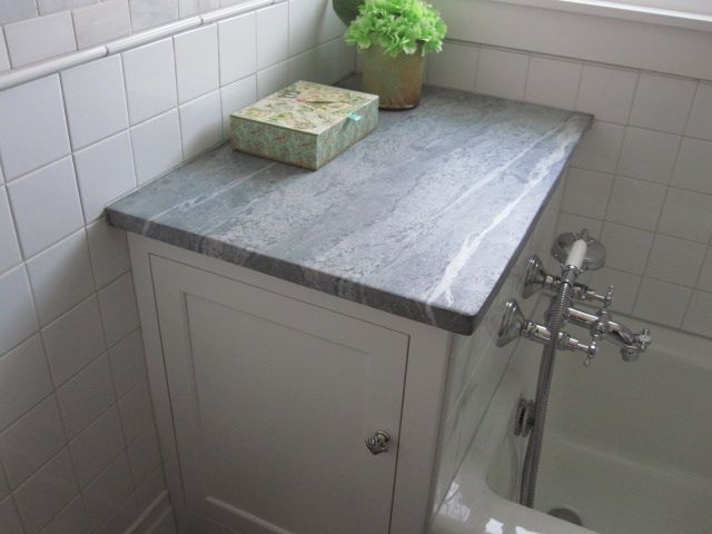 We Have Soapstone Countertops In Our Kitchen (2 Years Now) And Love Them.