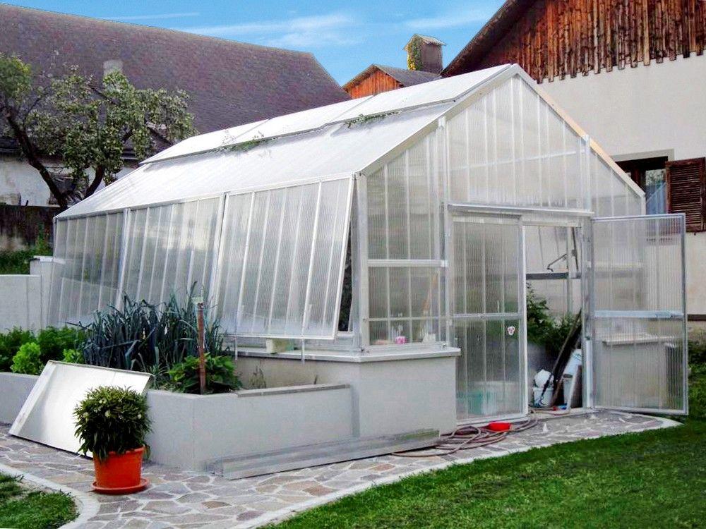 Mit Richtiger Beluftung Wachsen Pflanzen Im Gewachshaus Optimal