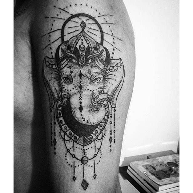 Tattoo Designs Ganesh: Ganesha Tattoo #blackwork @marcelomeneses