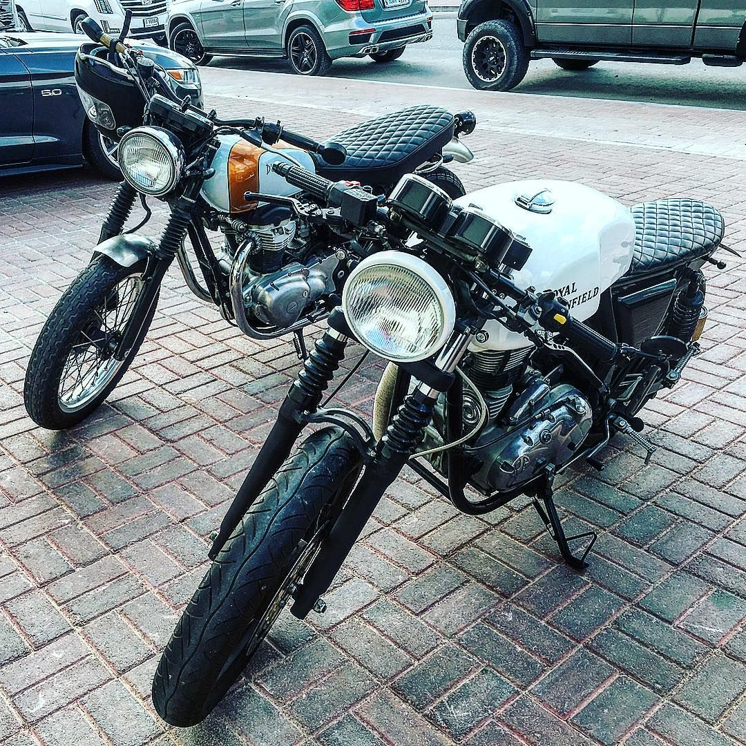 Parked next to a nice Kawasaki W650 today @caferiderme #caferacer #caferacerxxx #caferacerporn #caferacerstyle #caferacerworld #caferacerculture #budgetcaferacer #curatedmoto #caferacersociety #caferacersofinstagram #royalenfield #royal_enfield #royalenfieldbeasts #royalenfieldmotorcycles #royalenfielduae #stay_royal_live_enfield #royalenfieldfanatics #kawasakiw650 #kawasakicaferacer